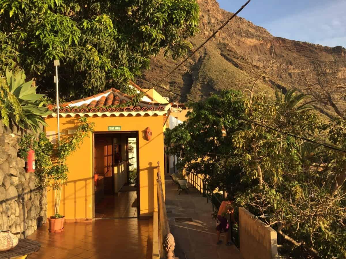 Unterk nfte rund um den gr 132 auf la gomera for Hotel jardin concha la gomera