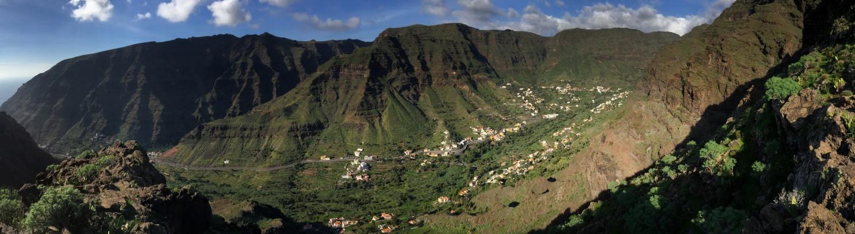 grandioser Blick auf das Valle Gran Rey