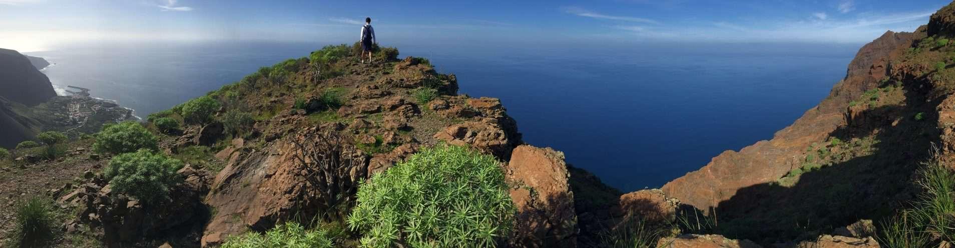 Ausblick über dem Valle Gran Rey