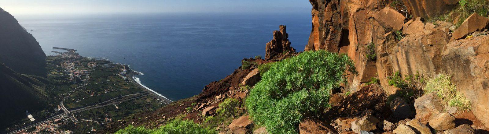 grandioser Ausblick beim Aufstieg aus dem Valle Gran Rey